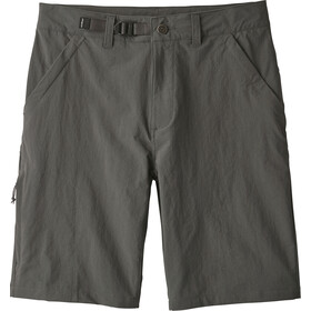 Patagonia Stonycroft Shorts 10'' Homme, forge grey